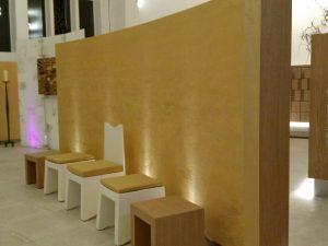 Neugestaltung der Innenräume des Kolumbariums