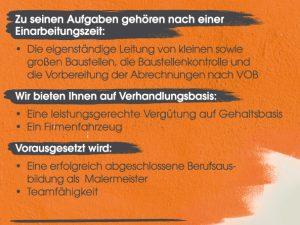 Stellenangebot: Lagerverwalter